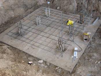 Сооружение буровых свай до d. 400